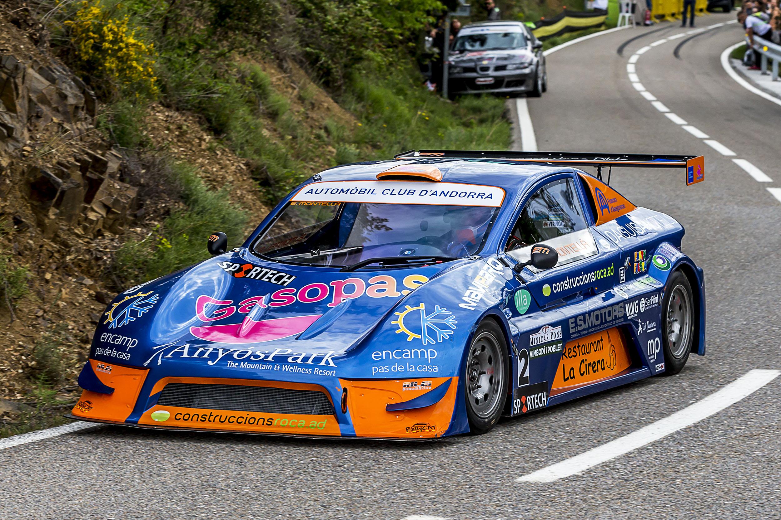 Edgar Montellà (Speed Car) va aconseguir el seu primer triomf absolut de la temporada