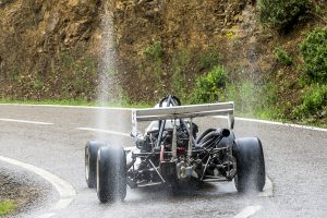 Claude darné ha disputat les cinc pujades programades amb el fórmula Martini Mk 1800