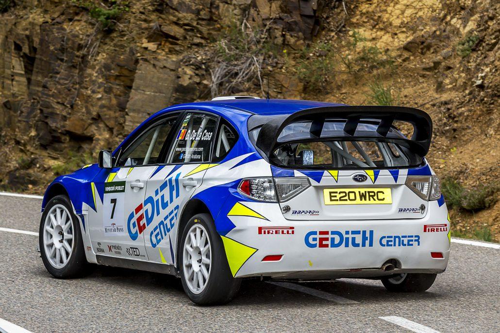 Gerard de la Casa va aconseguir una vegada més la segona posició entre els Turismes del campionat català