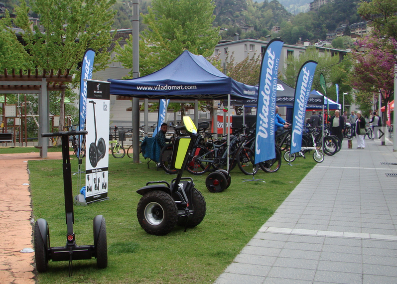 Els Segway a La Jornada de Mobilitat Elèctrica