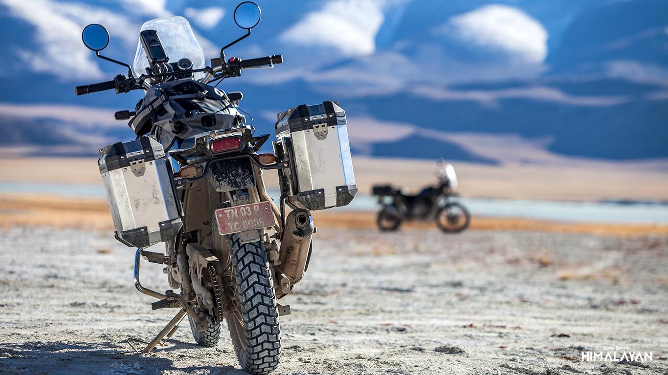 Royal Enfield Himalayan es el noi model Trail de la marca