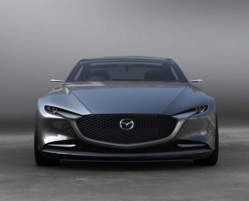 El frontal del Mazda Vision Coupe