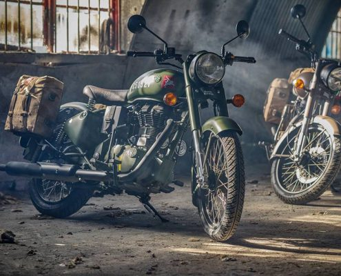 La Royal Enfield flying flea