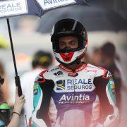 Cardelús al Circuit de Barcelona en el Moto2 2018