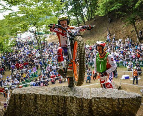 Toni Bou al Campionat del Món de Trial 2018