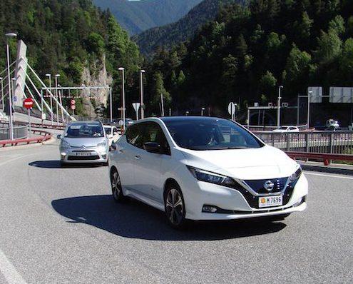 Nissan Leaf 2018 prova