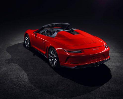 Porsche 911 Speedter posterior