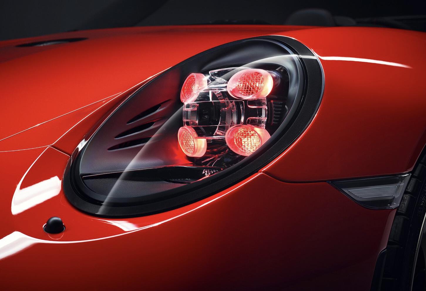 Òptica del Porsche 911 Speedster