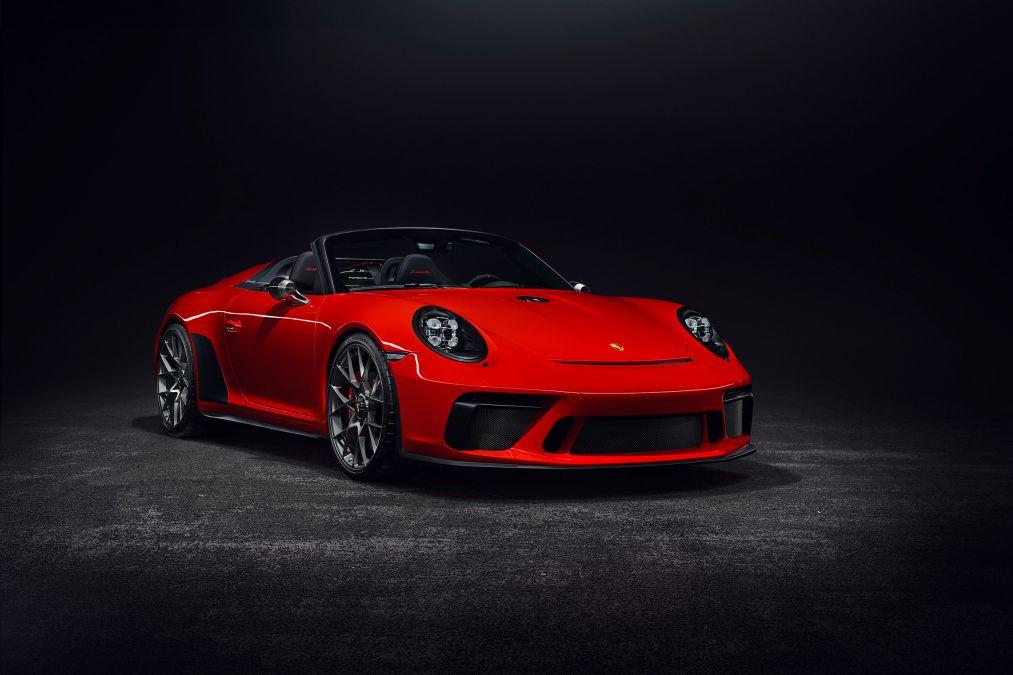 Frontal Porsche 911 Speedster