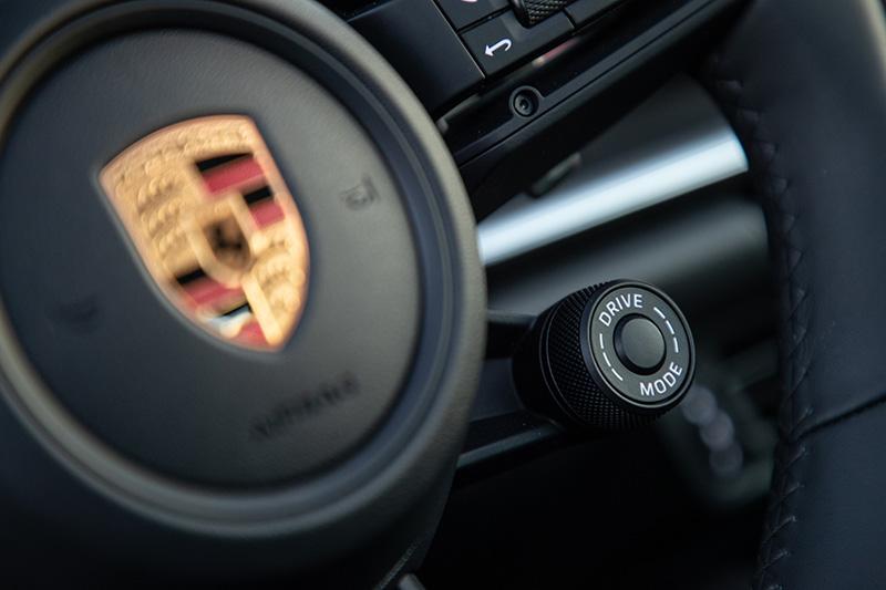 Porsche 911-992 driving mode