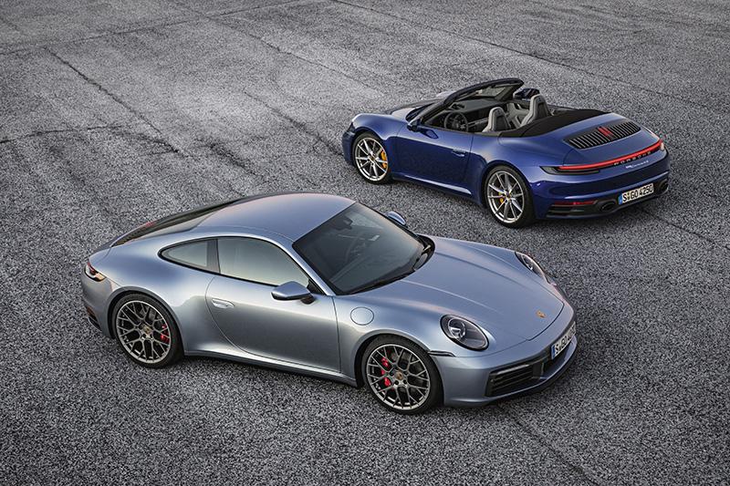 Porsche 911-992 2019