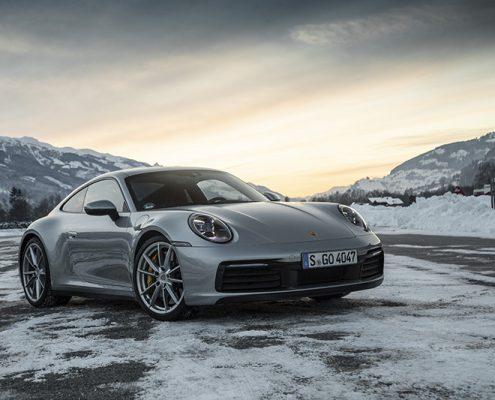 Porsche 911-992 2019. Front