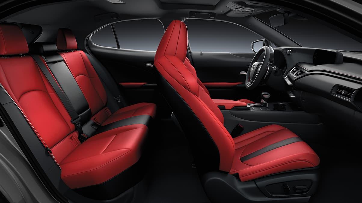 Interior complet del Lexus UX 250h