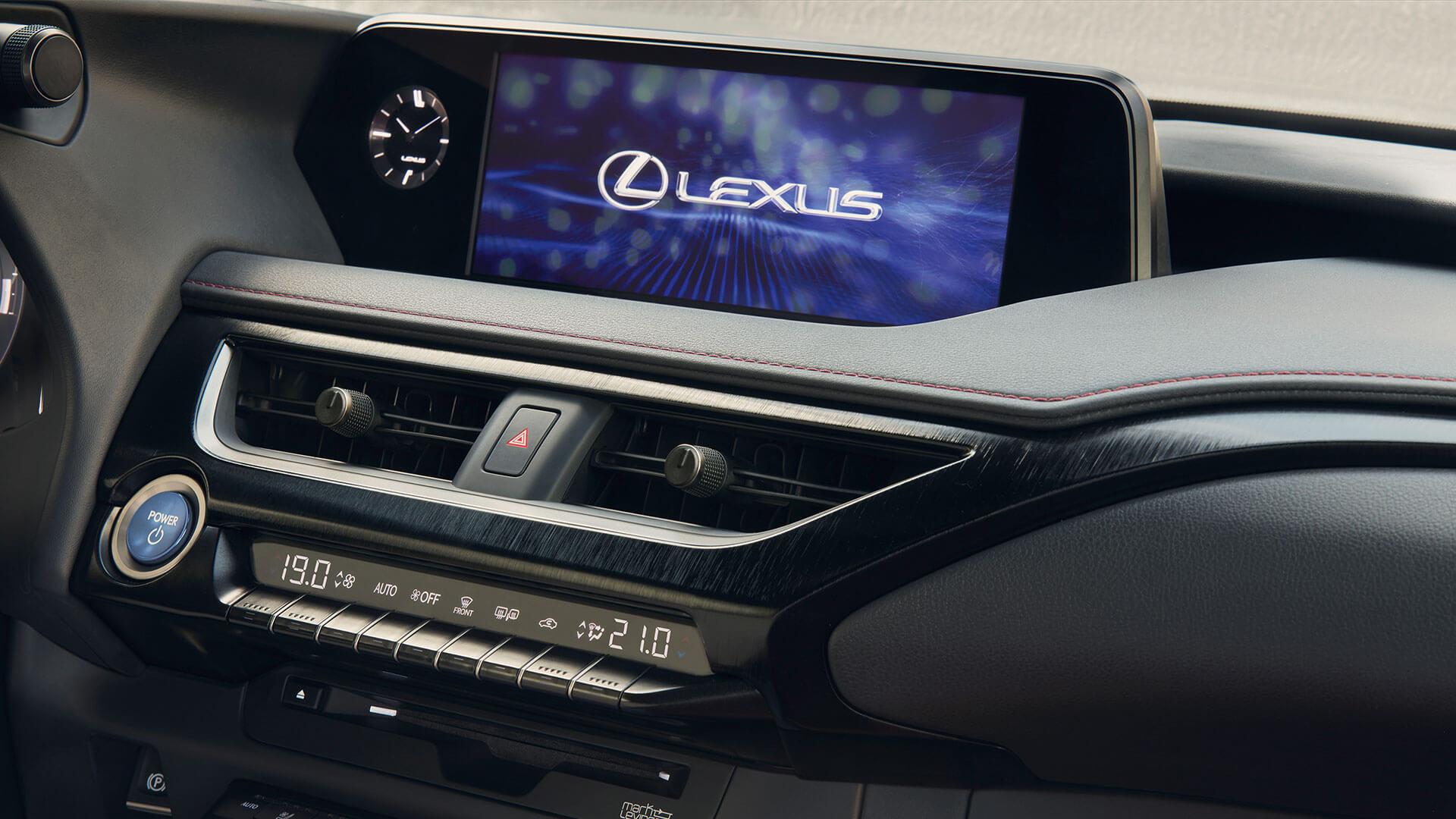Pantalla Lexus UX